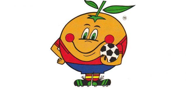 Naranjito Mascotte Espagne 1982