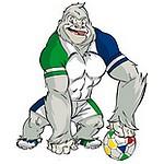 Gaguie, mascotte de la CAN 2012 au Gabon et en Guinée Equatoriale