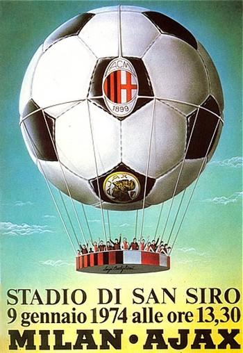 Luigi Castiglioni, Milan-Ajax 1974