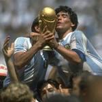 Diego Maradona Argentine 1986