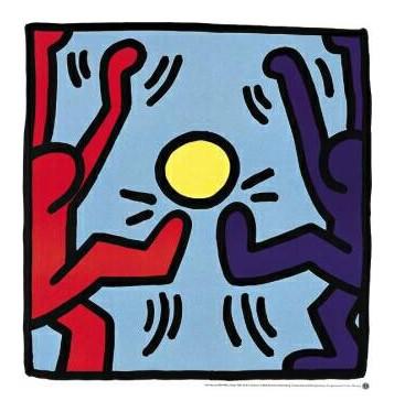 Keith Haring Football