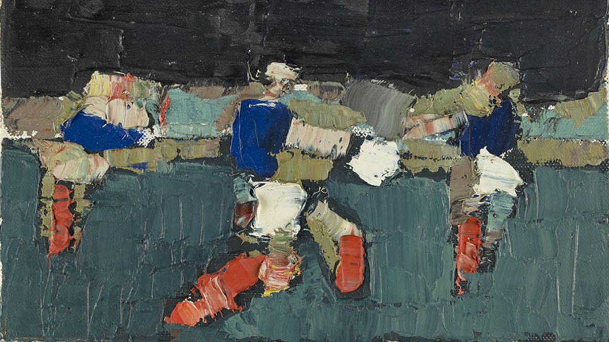 Nicolas de Stael Footballeurs