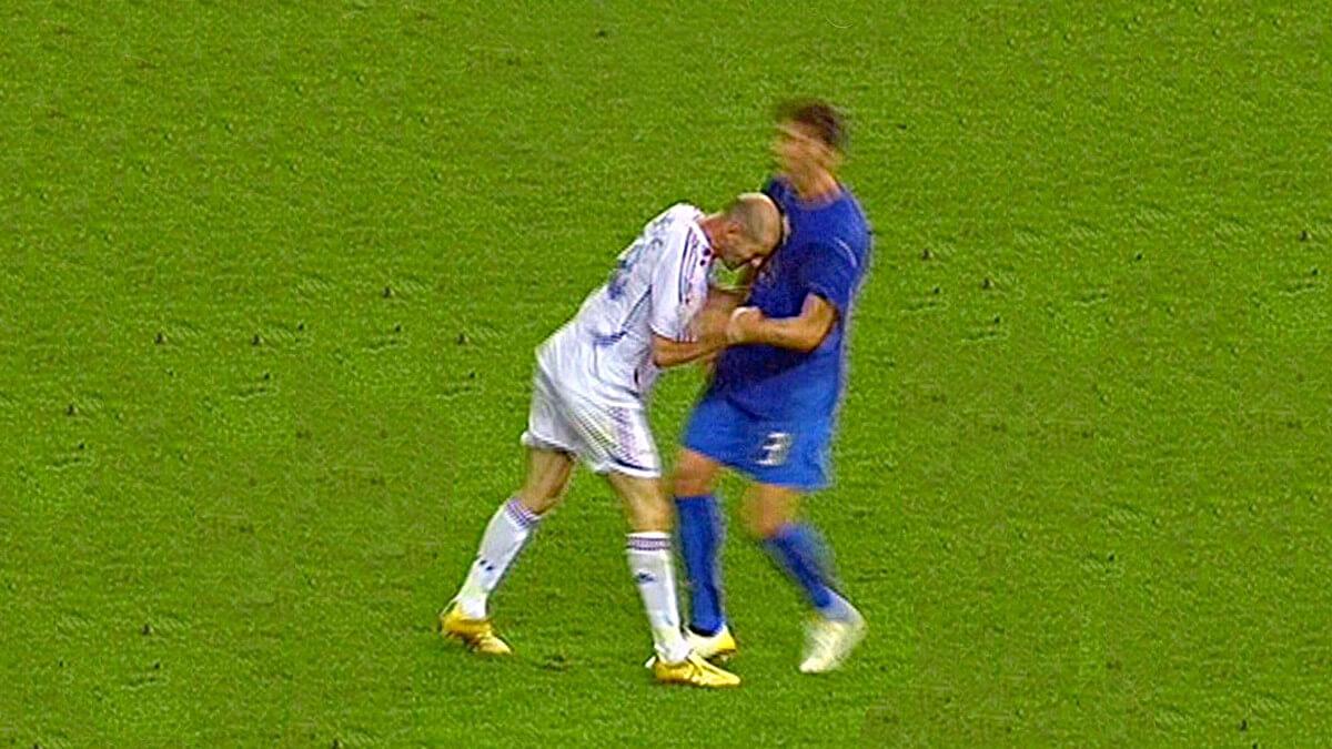 Zidane Materazzi 2006