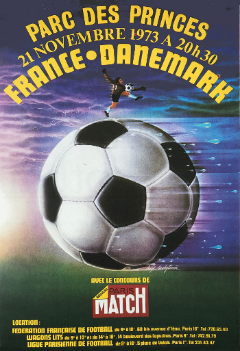 Luigi Castiglioni France-Danemark 1973