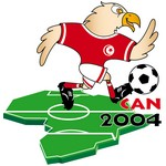 Nçayir, mascotte de la CAN 2004 en Tunisie