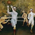 Les Joueurs de football (Douanier Rousseau)
