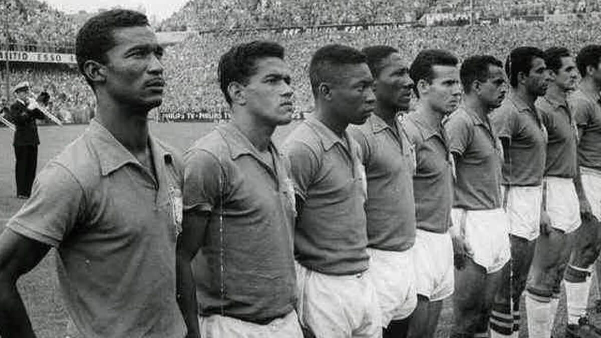 Garrincha et Pelé
