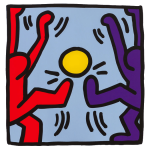 Keith Haring Football