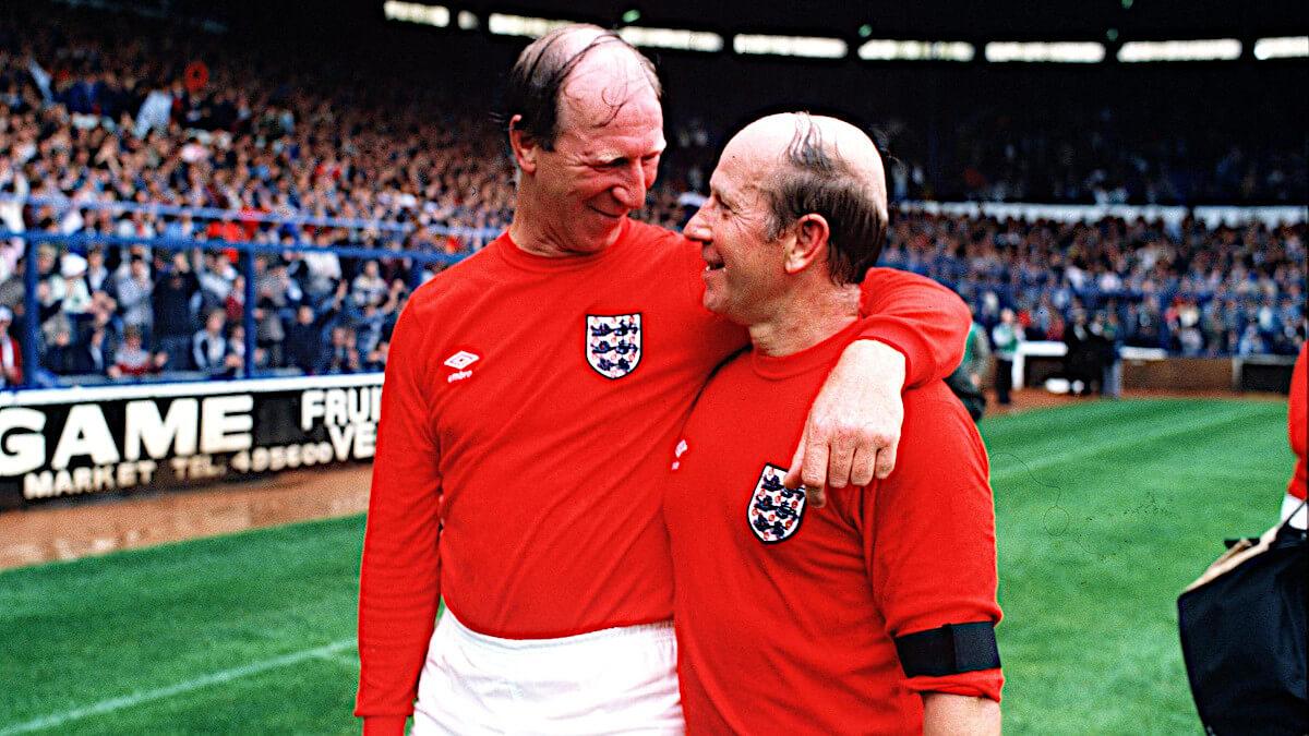 Bobby et Jack Charlton