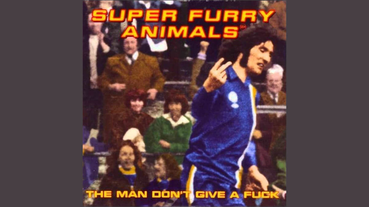 "Super Furry Animals ""The man don't give a fuck"""
