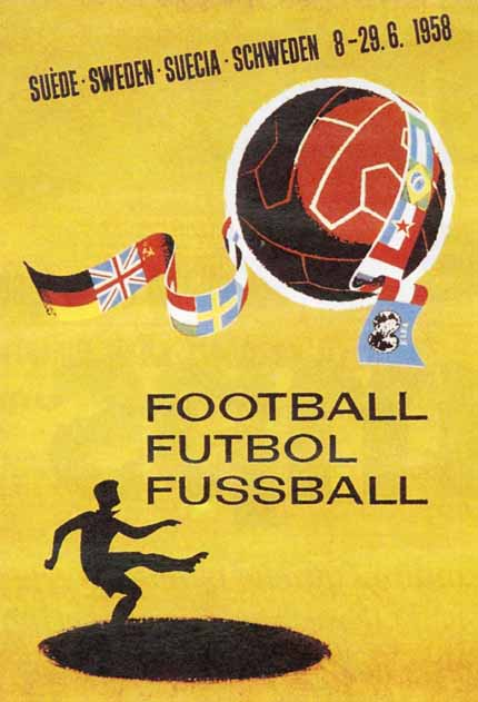Affiche Coupe du Monde 1958