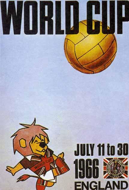 Affiche Coupe du Monde 1966