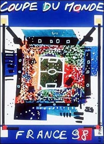 Affiche Coupe du Monde 1998