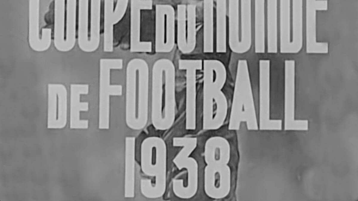 Film Coupe du Monde 1938