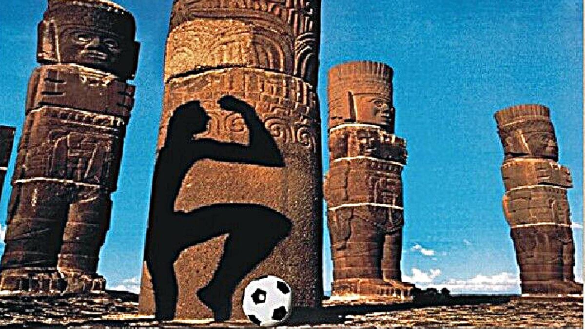 Affiche de la Coupe du Monde 1986