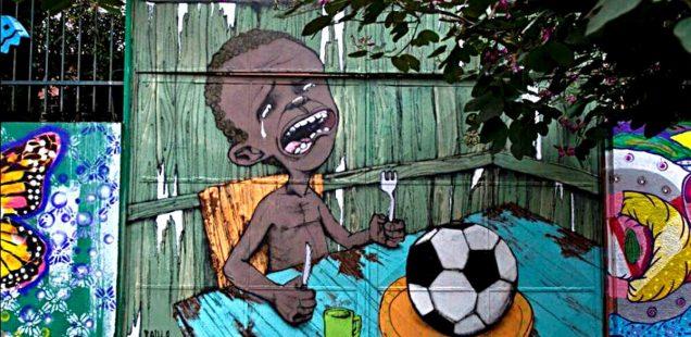 Anti-Foot Brasil 2014 Street Art