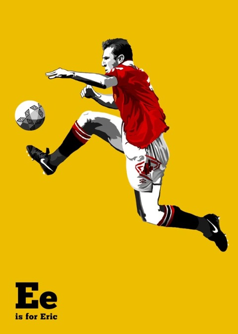 E is for Eric Cantona