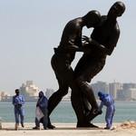 Statue Zidane Doha Adel Abdessemed