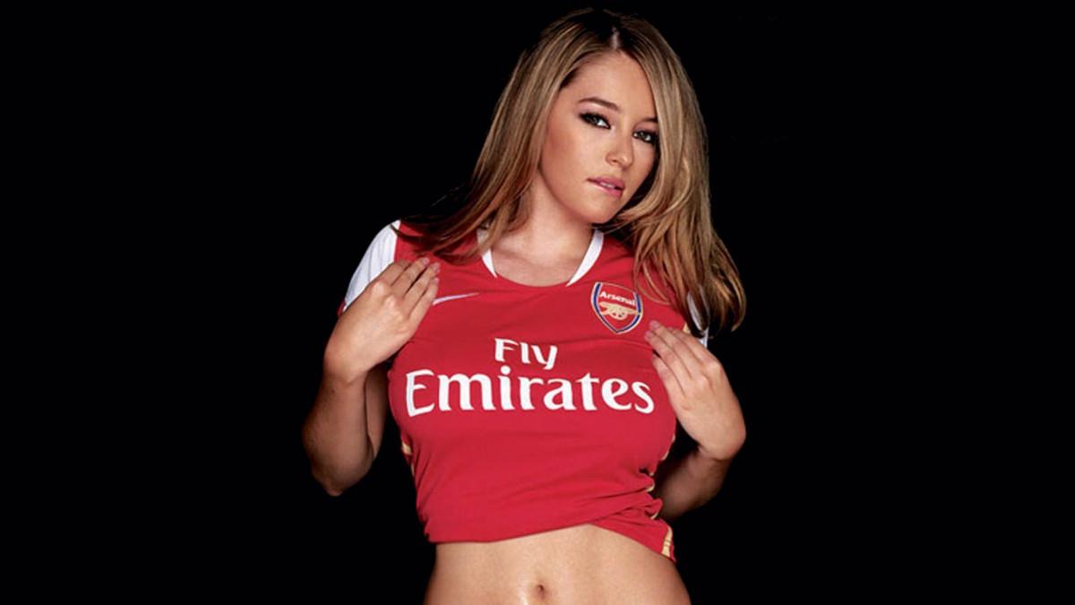 Arsenal 2008 Kelley Hazell