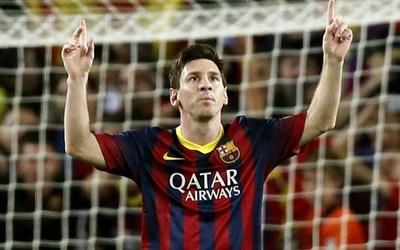 Barca Messi 2014
