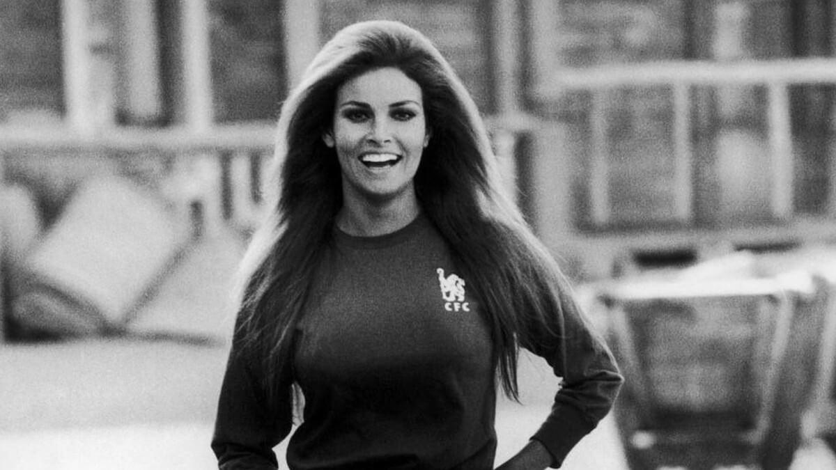 Raquel Welch Chelsea 1970