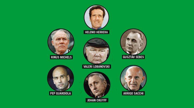 Les entraineurs révolutionnaires du football