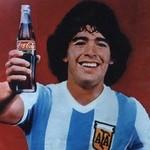 Maradona Coca Cola 1982