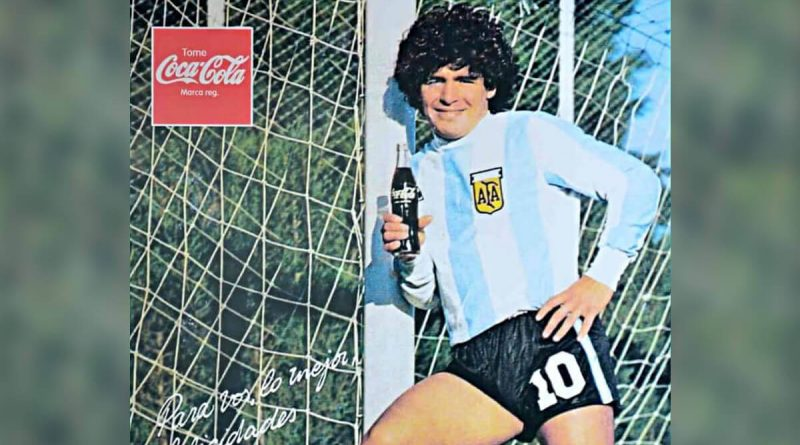 Maradona Coca-Cola