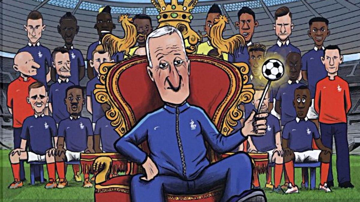 BD Faro Deschamps 1er Roi des Bleus