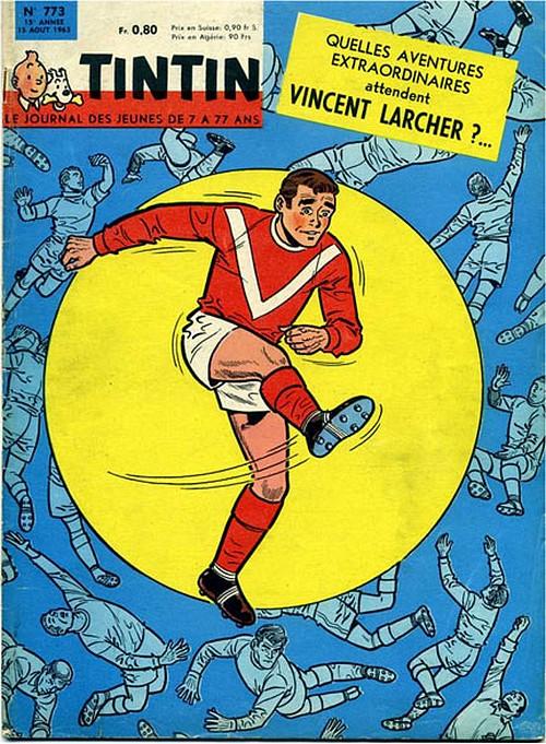 Le Journal de Tintin N° 773 du 15 Août 1963