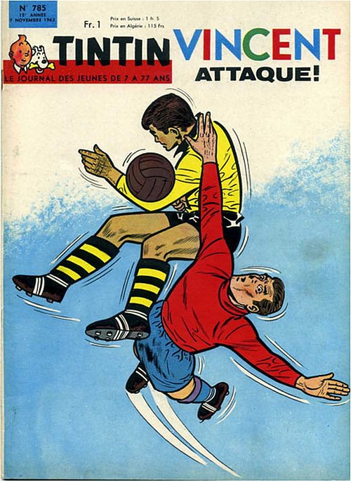 Le Journal de Tintin N° 785 du 7 Novembre 1963