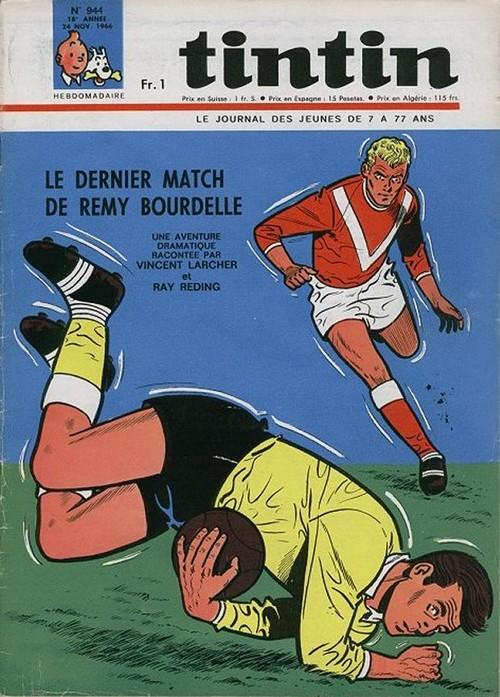 Le Journal de Tintin N° 944 du 24 Novembre 1966