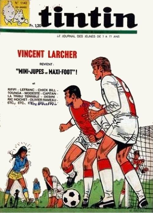 Le Journal de Tintin N° 1142 du 17 Septembre 1970