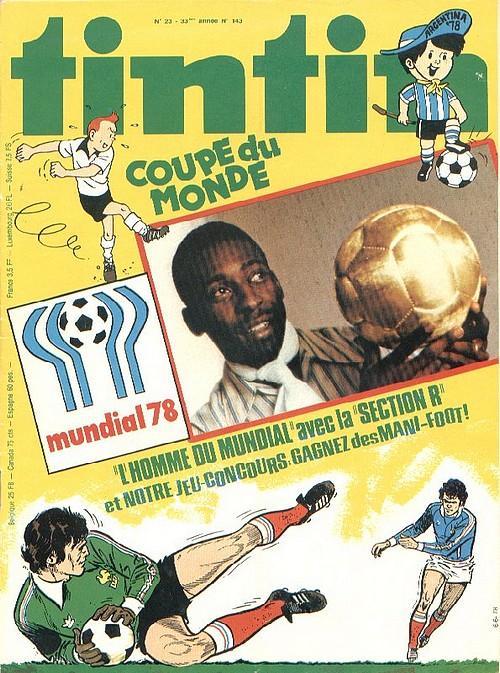 Le Journal de Tintin N° 143 du 6 Juin 1978
