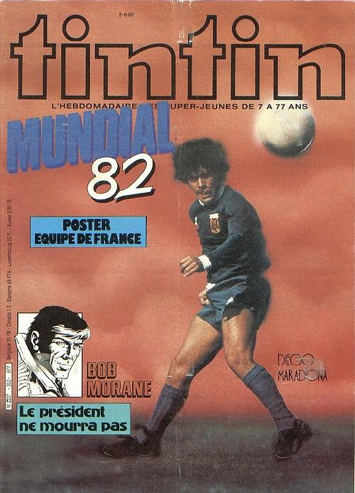 Le Journal de Tintin N° 352 du 4 Juin 1982