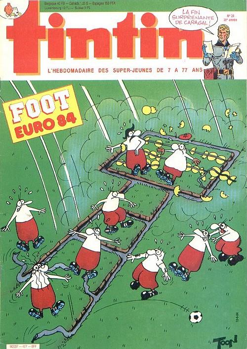 Le Journal de Tintin N° 457 du 12 Juin 1984
