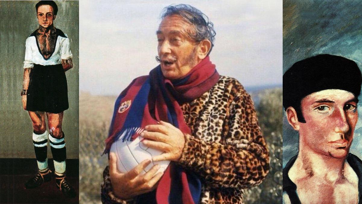 Salvador Dali football