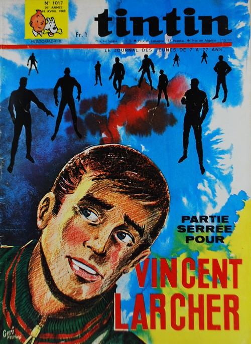 Le Journal de Tintin N° 1017 du 18 Avril 1968