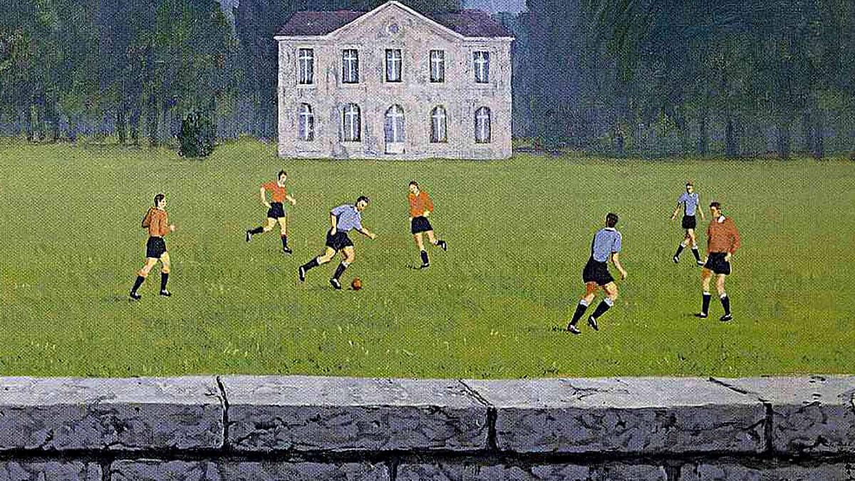 René Magritte Football