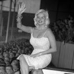 Jayne Mansfield 1959 White Hart Lane