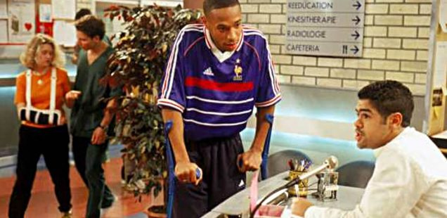 """Thierry Henry """"H"""""""