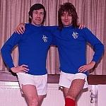 Rod Stewart et John Greig