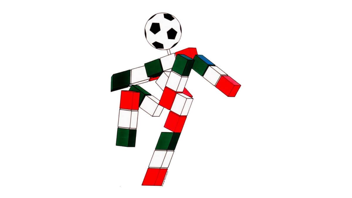 Ciao Mascotte Italia 1990