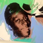 Pelé by Andy Warhol, 1979