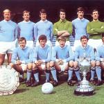 Ciel bleu sur Manchester