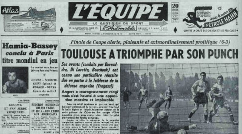 Toulouse-Angers 1957
