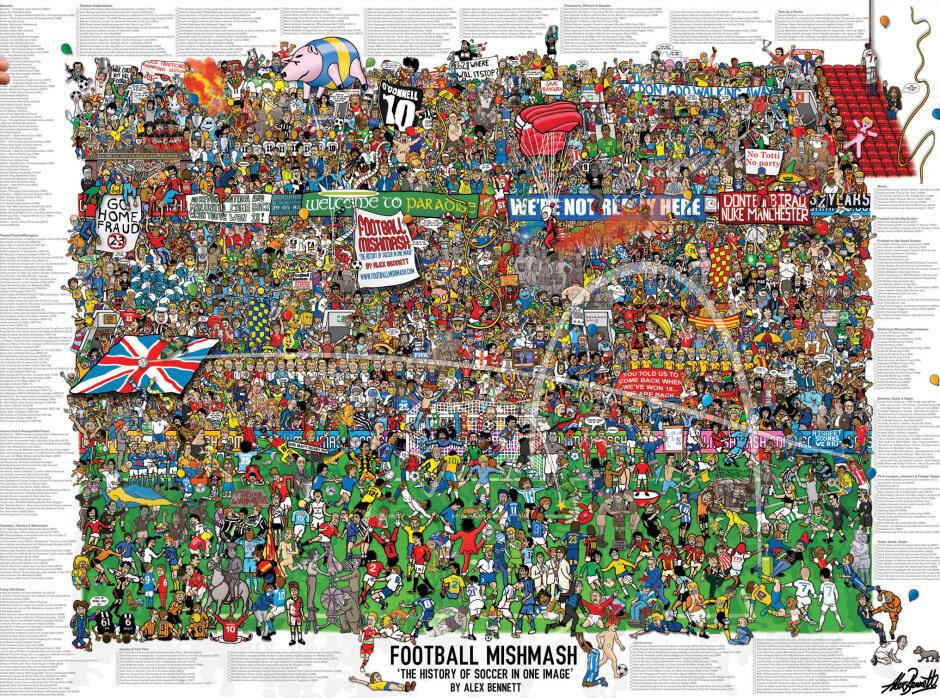 Alex Bennett : Football Mishmash