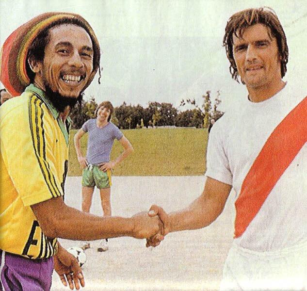 Bob Marley et Henri Michel