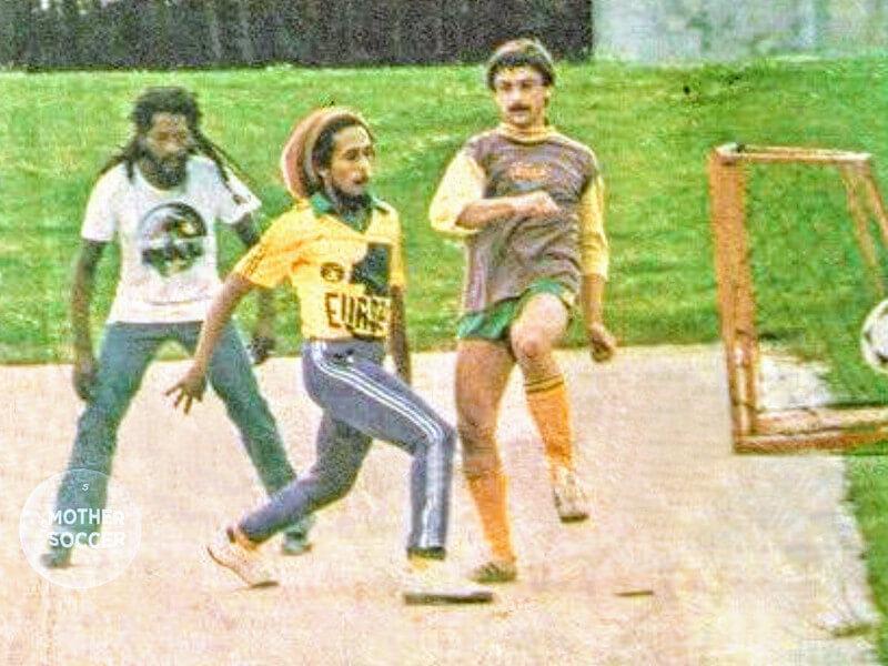 Bob Marley et Gilles Rampillon