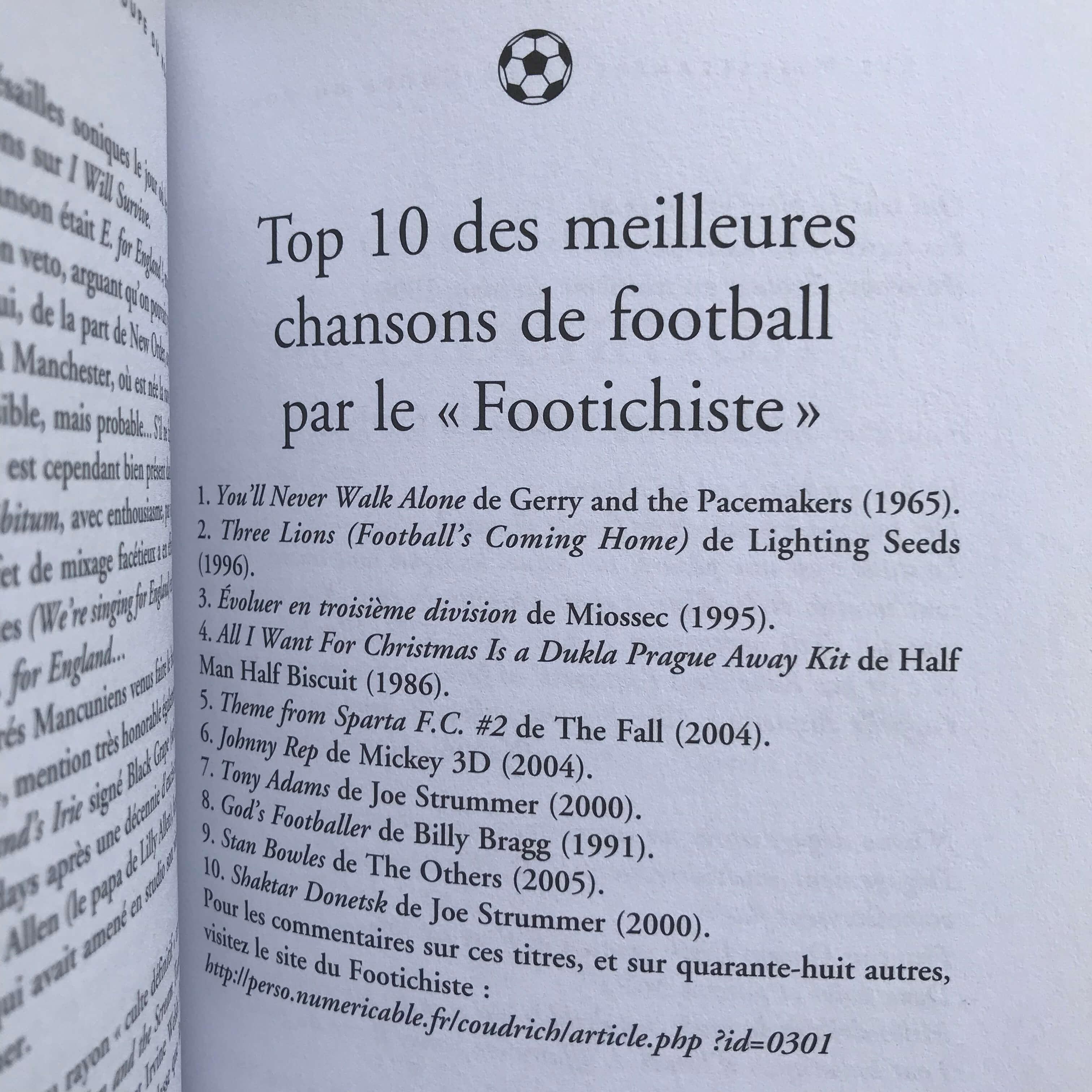 """Extrait de """"Les Miscellanées de la Coupe du monde"""" (2010, Fetjaine) d'Olivier Lefèvre."""